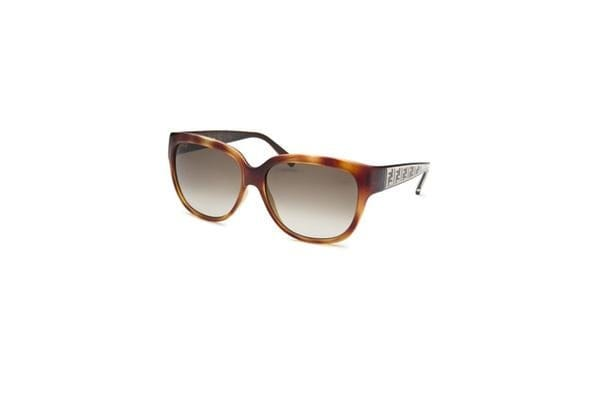 Fendi Women Oval Havana Sunglasses (FS5292-725-57-14-130)