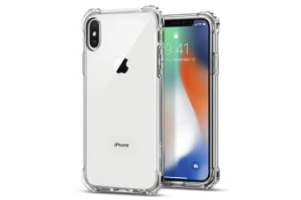Spigen iPhone X Rugged Crystal Case Crystal Clear