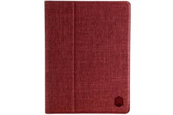 "STM Atlas Case for iPad 9.7"" (5th & 6th Gen.) / Air 1 & Air 2 / iPad Pro 9.7  - Dark Red"