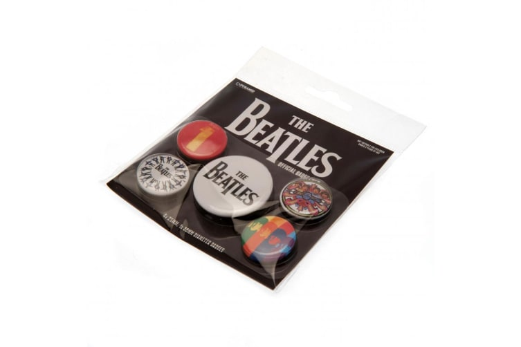 The Rolling Stones Button Badge Set (Multi-colour) (One Size)