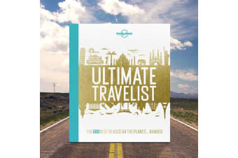 Lonely Planet Ultimate Travelist Book – Global Travel Adventure Holiday Best Destinations Vacation Foreign