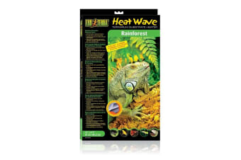 Exo Terra Large Heatwave Rainforest Reptile Substrate Heater Snakes, 27.9x43.2cm
