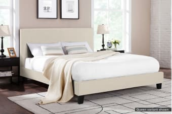Shangri-La Bed Frame - Ravello Collection (Beige Royal)