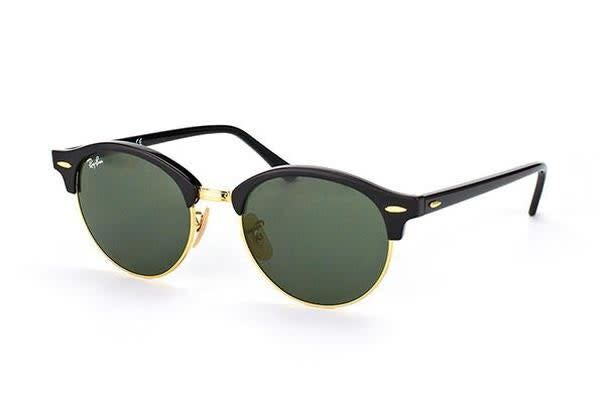 Ray-Ban RB4246 51mm - Black (Green Classic G-15 lens) Unisex Sunglasses