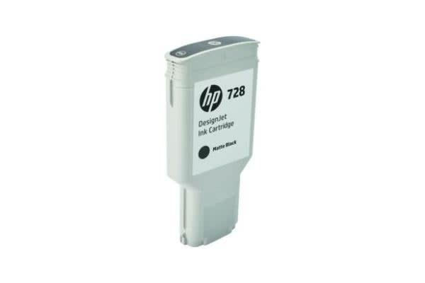 HP INK CARTRIDGE No 728 MatteBlack 300ml