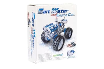 Salt Water Fuel Cell Engine Car Kit | science educational toys toy diy build cars