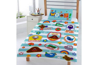 Hey Duggee Woof Reversible Junior Duvet Set (Multi-colour) (120 x 0.1 x 150 cm)