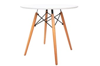 Replica Eames DSW Eiffel Dining Table (White)