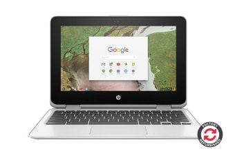 "HP 250 G7 14"" HD Chromebook (Intel Celeron, 4GB RAM, 32GB EMMC, White) - Certified Refurbished"