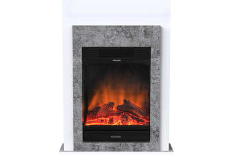 Dimplex Conner 1.5kW Electric Mini Suite LED Firebox Fireplace Heater Flame Effe