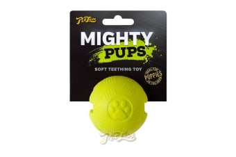Interpet Mighty Pups Foam Ball (Yellow)
