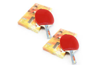 2x DHS 3002 3 Star Table Tennis Bat Racket Long Handle Ping Pong Paddle Shakehand