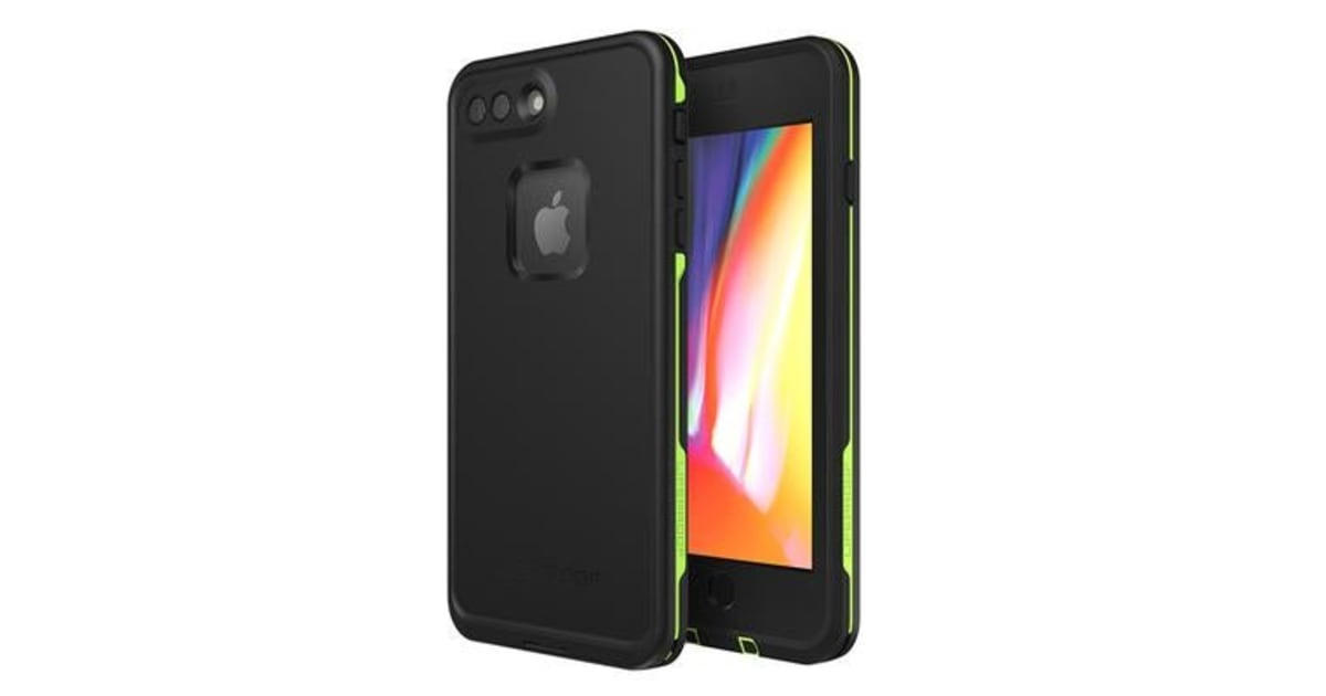 best sneakers e6b6b 47093 Lifeproof iPhone 8 Plus/ 7 Plus Fre Case Black Lime | Bags & Covers