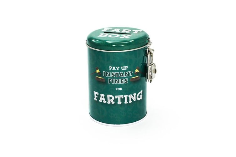 Smuttiness Fines Money Tin - Farting