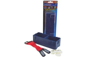 Rigrap Rig Rack 12 - Secures Multiple Rigrap Boxes In One Easily Accessible Unit
