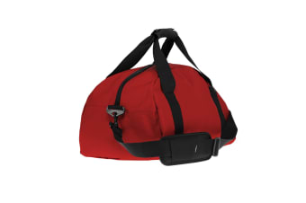 ID Ribstop Gym Duffle Bag (Red) (One size)