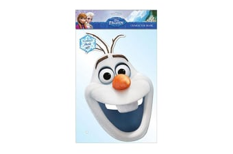 Frozen Olaf Mask (White) (One Size)