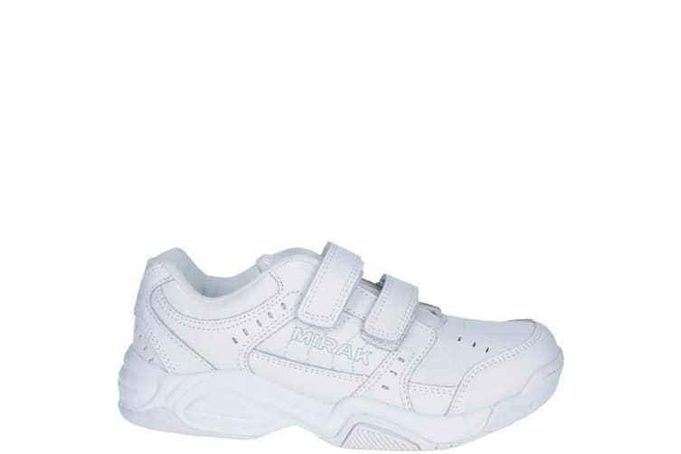 Mirak Contender Lace Trainer / Adults Unisex Trainers / Sports (White) (36 EUR)
