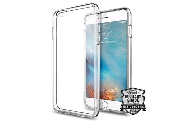 "Spigen iPhone 6S Plus (5.5"") Ultra Hybrid Case-Crystal Clear"