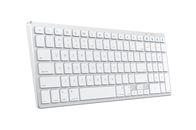 Satechi Slim Wireless Keyboard for Mac (Silver)