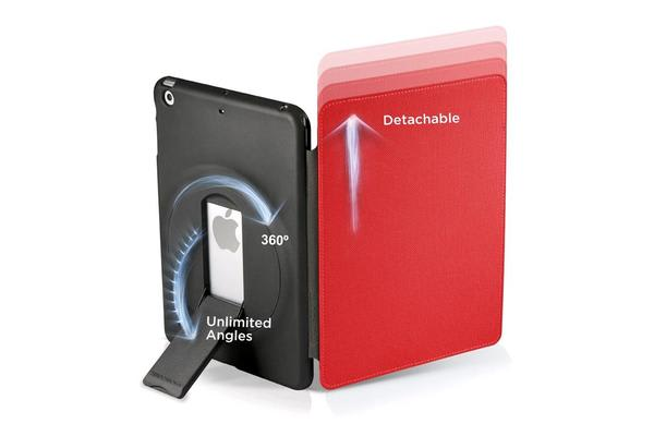 Zero Chroma FolioSlide - iPad Mini/Retina - Red