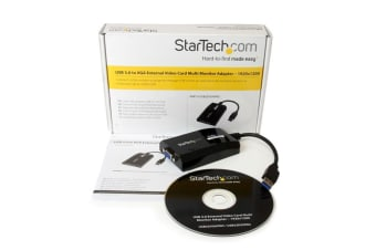 StarTech.com USB 3.0 to VGA Adapter - 1920x1200