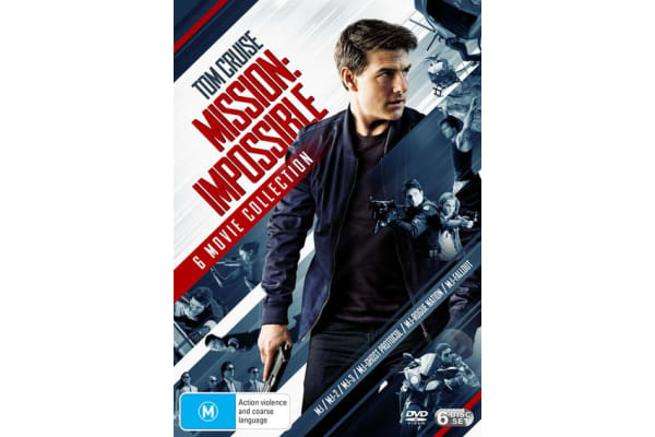 Mission Impossible The 6 Movie Collection Box Set DVD Region 4