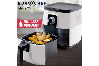 White 3L Air Fryer Electric -EUC-AF3W