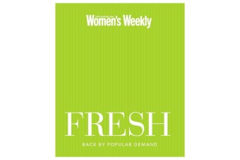 Fresh Australian Women's Weekly Cookbook Food Hardcover Book Cooking Recipes