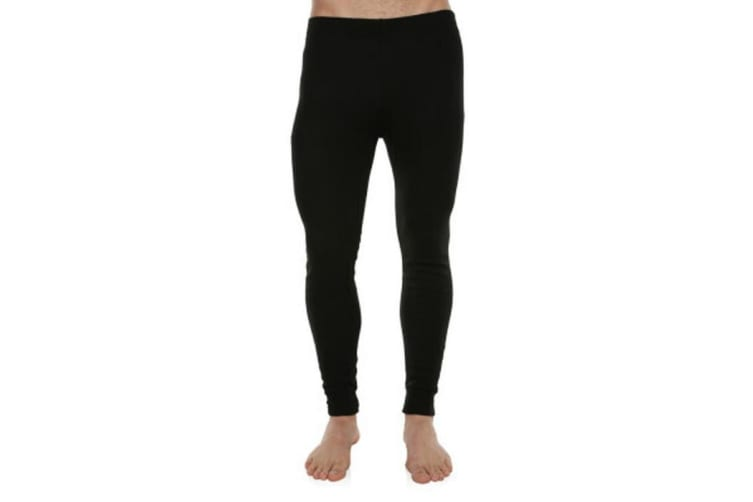 XTM Adult Unisex Thermal Bottoms Unisex Thermal Pant Black - S