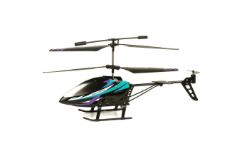 Rusco Flying RC Helicopter SkyHawk Blue - 2.4GHz