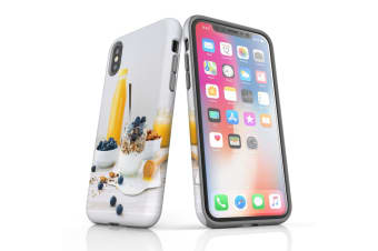 For iPhone XS Case  Protective Back Cover  Healthy Brekkie