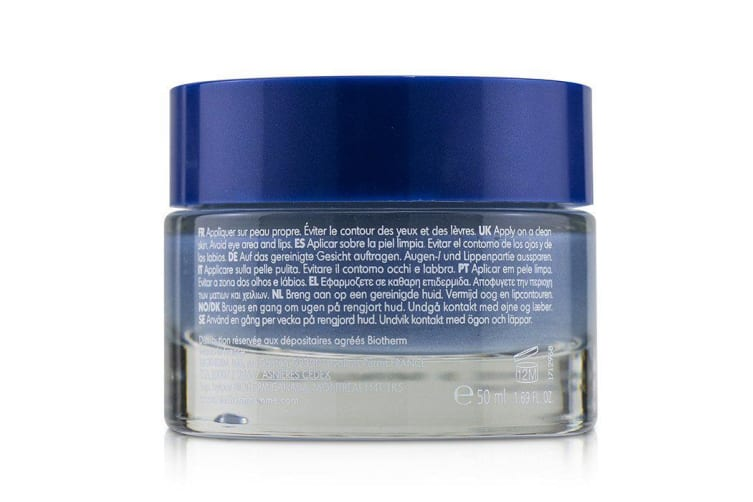 Biotherm Homme T-Pur Blue Face Clay Pore Minimizer Care 50ml
