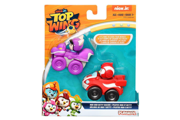 Playskool Top Wing Rod and Betty Racers