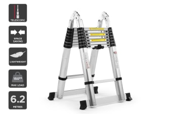 Certa 6.2m Telescopic Foldable Ladder