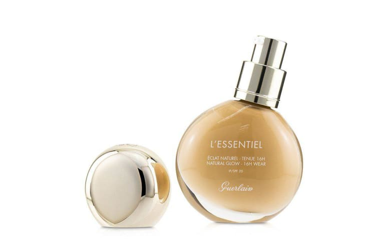 Guerlain L'Essentiel Natural Glow Foundation 16H Wear SPF 20 - # 045N Amber 30ml