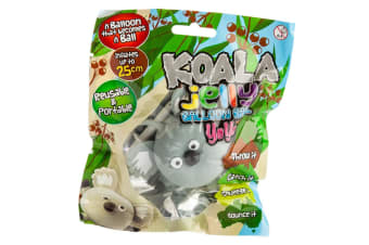 Koala Balloon Ball Squeeze Inflate Bounce Throw Toss Novelty Gift