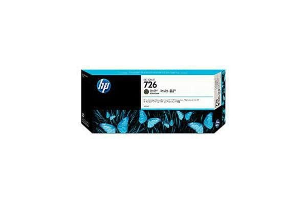 HP 726 300ml Matte Bk Designjet Ink Crtg
