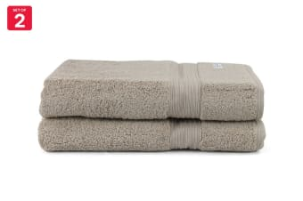 Onkaparinga Ultimate 100% Turkish Cotton Bath Sheet Set of 2 (Mocha)