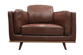 York 1 Seater Sofa (Brown)