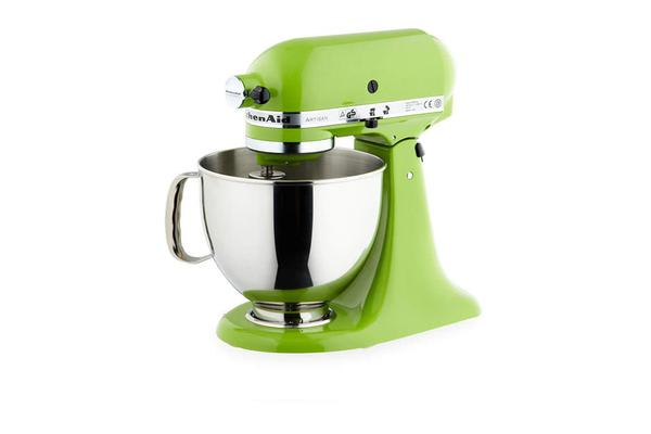 kitchenaid artisan ksm150 stand mixer apple green kogan com
