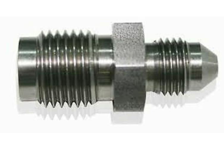Aeroflow Male -3AN To Invert M10 X 1.25Stainless Inverted M10 X 1.25