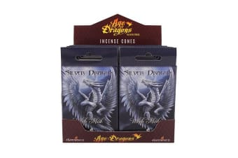 Age Of Dragons Silver Dragon Incense Cones (12 Packs Of 15) (Grey)
