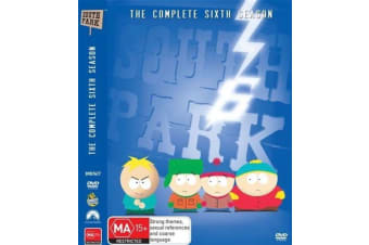 South Park : Season 6 ( 3-Disc Set) -Comedy Series Rare- Aus Stock Preowned DVD: DISC LIKE NEW