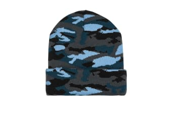 Beechfield Unisex Adults Camo Cuffed Beanie (Twilight Camo) (One Size)