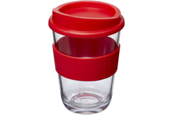 Americano 300ml Insulated Tumbler With Grip (Red)