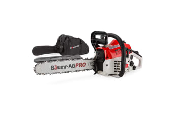 Baumr-AG 38CC Petrol Commercial Chainsaw 16 Inch Bar E-Start 3.2 HP Chain Saw