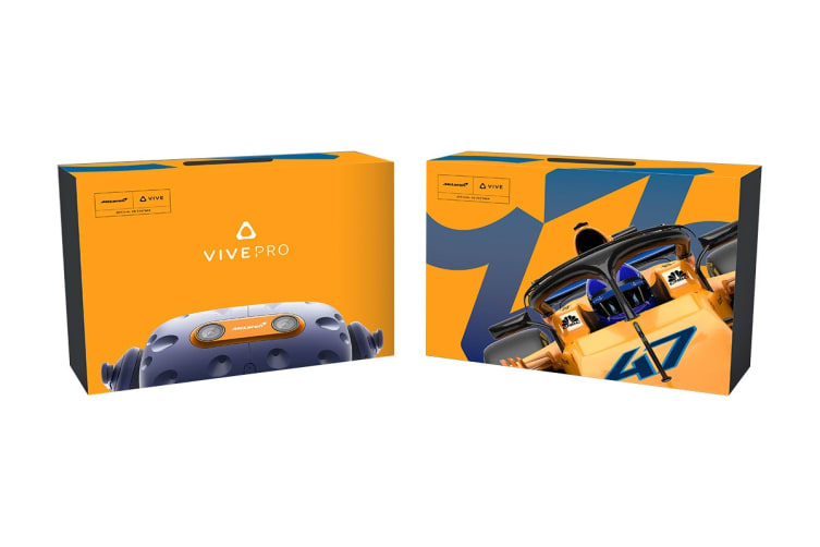 HTC Vive Pro Kit - McLaren Limited Edition (99HANW049-00)