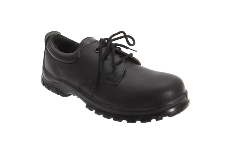 Grafters Mens Fully Composite Non-Metal Safety Shoes (Black) (40 EUR)