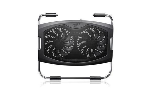 """Deepcool N2000 IV Notebook Cooler with Dual 140mm Fans (for NBs up to 15.6"""")"""